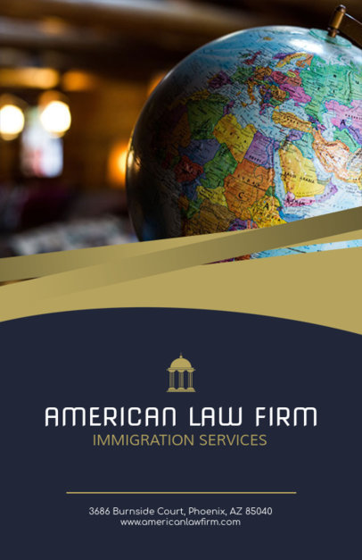 Flyer Maker for Immigration Lawyer 691e