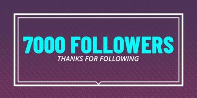 1000 Followers Post Maker for Twitter 619c