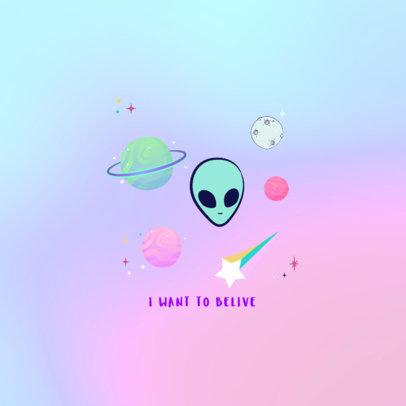 Planets and Aliens Popsocket Maker 678d