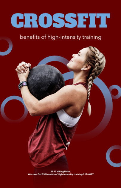 Crossfit Training Flyer Template 700b