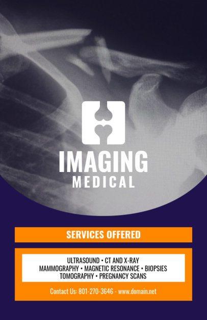 Online Flyer Maker for Radiology Centers 409c