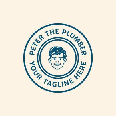 Logo Maker for a Plumber 1475c