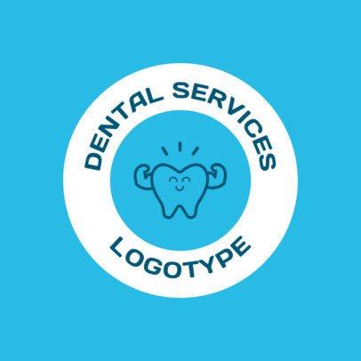 Dental Services Online Logo Maker 1486