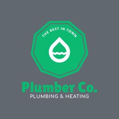 Plumbing Company Logo Design Maker 1440e