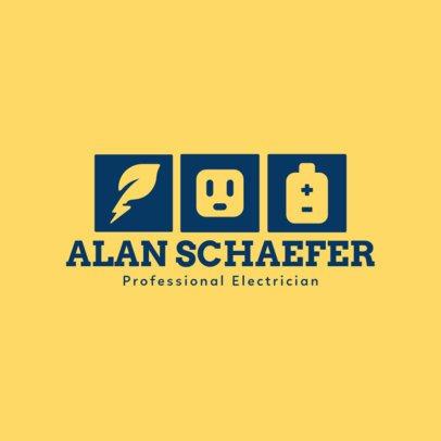 Online Logo Maker for Professional Electricians 1477d