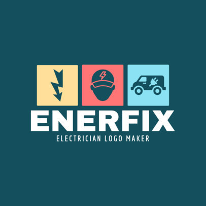 Logo Generator for Electricians 1477e