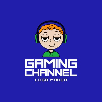 Gaming Channel Logo Maker for a Twitch Channel 1458d
