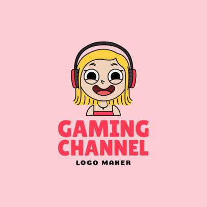 Cartoonish Avatar Logo Maker for a Twitch Channel 1458e