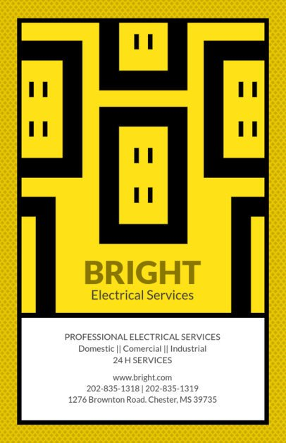 Electrical Services Online Flyer Maker 725