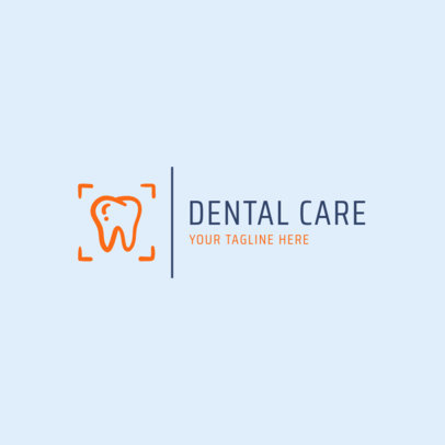 Dental Care Logo Maker 1485e