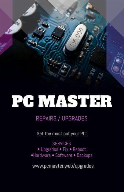 Tech Repair Online Flyer Maker 179d