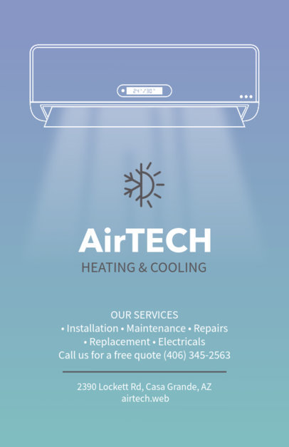 Heating and Cooling Flyer Template 709