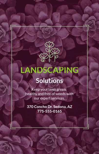 Landscaping Solutions Flyer Maker 699d--1762