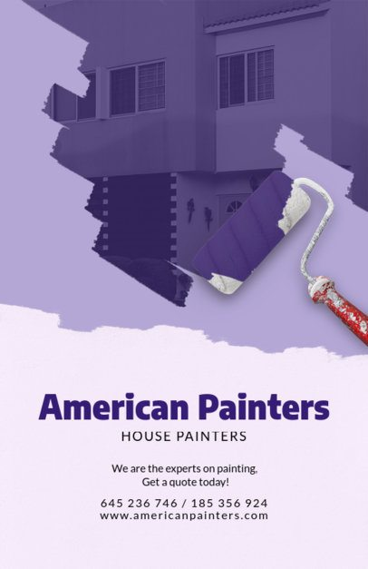 Online Flyer Maker for House Painters 712d
