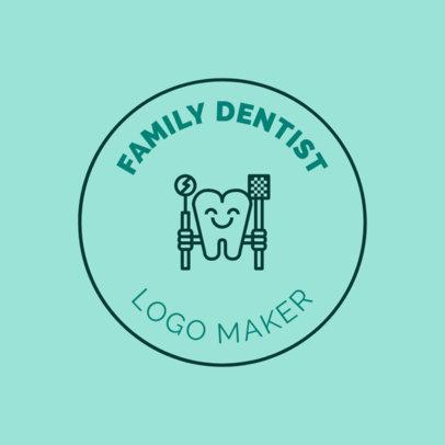 Logo Generator for Family Dentists 1486c