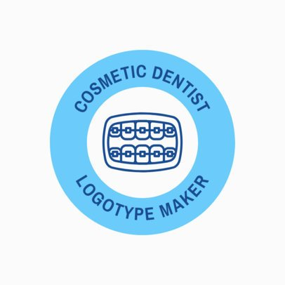 Cosmetic Dentist Logo Template 1486d