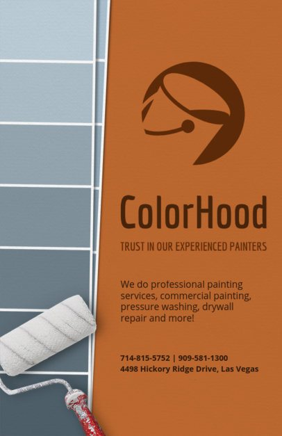 Painter Flyer Template 720a