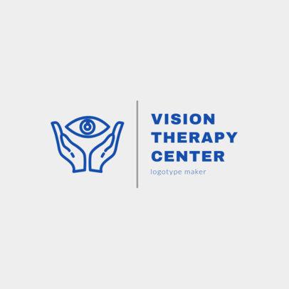 Vision Center Logo Design Maker 1495b