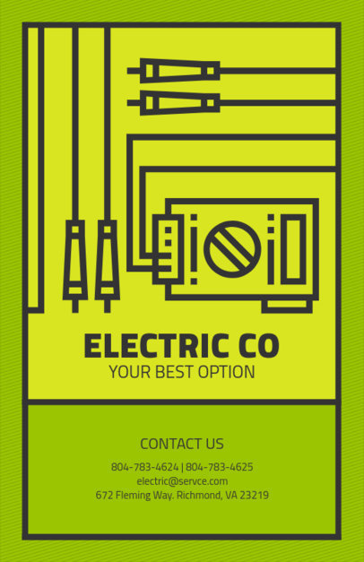 Flyer Template for Electrical Repair 725e