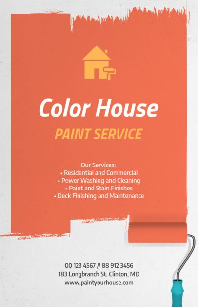 House Painting Flyer Maker 734