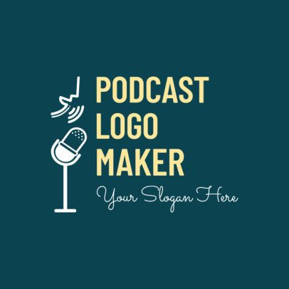 Logo Generator for a Singers Podcast 1448c