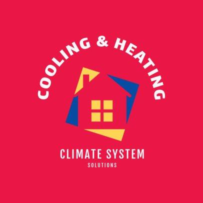 Climate System Services Logo Maker 1505c