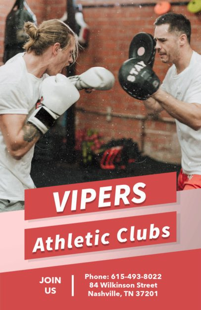 Athletic Club Flyer Maker 696c