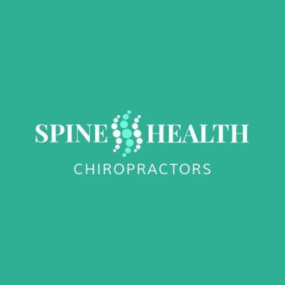 Spine Health Clinic Logo Template 1490c