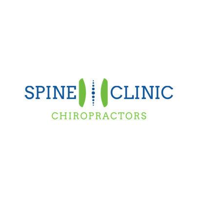 Logo Design Maker for Spine Clinic 1490b
