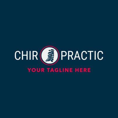 Chiropractic Clinic Logo Design Template 1490e