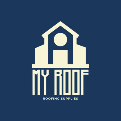 Logo Maker for a Roofing Supplies Company 1482b