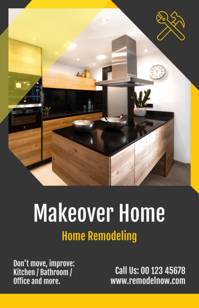 Home Remodeling Flyer Maker 733