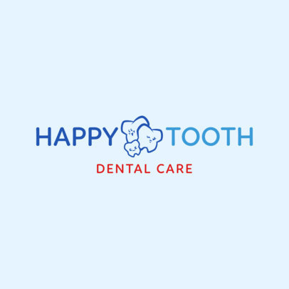 Dental Care Logo Design Template 1487