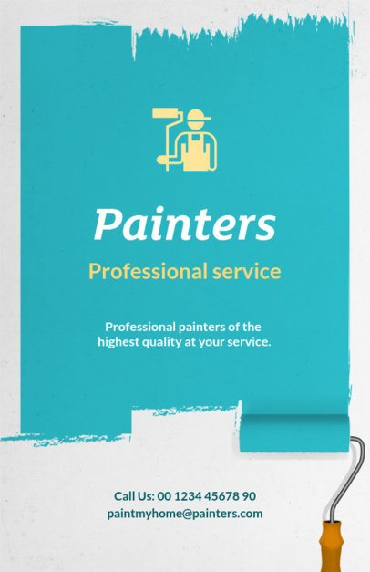 Professional Painters Flyer Maker 734a