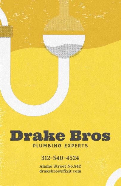Plumbing Expert Flyer Design Maker 710d