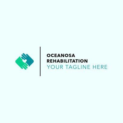 Minimalist Rehab Center Logo Maker 1504