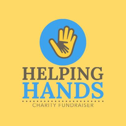 Charity Fundraiser Logo Maker 1507e