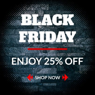 Ad Creator for Black Friday Sales Discount 757