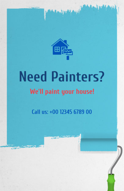 Home Painter Flyer Maker 734e