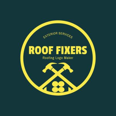 Roof Fixers Logo Maker 1484b