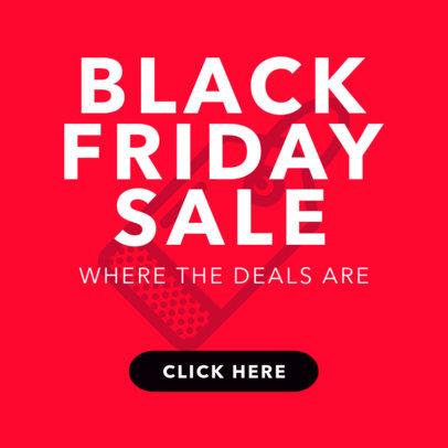 Online Banner Maker for a Black Friday Sale 744
