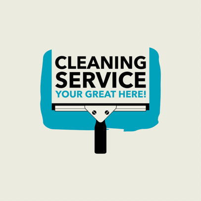 Residential Cleaning Services Logo Maker 1446