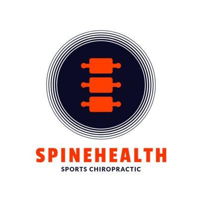 Sports Chiropractic Logo Maker 1493