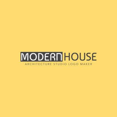 Modern Architecture Logo Template 1263c