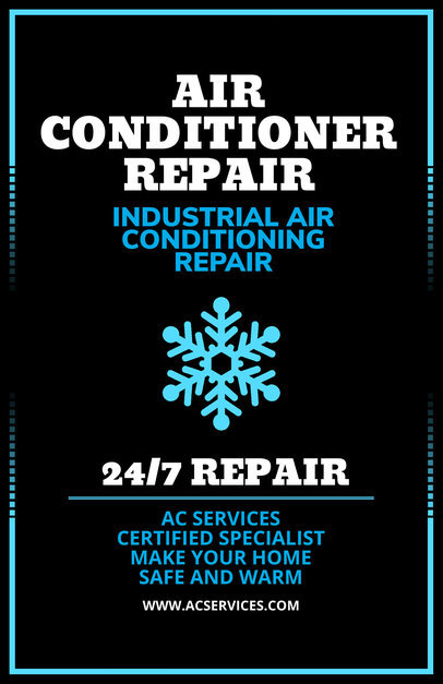placeit ac repair services flyer generator