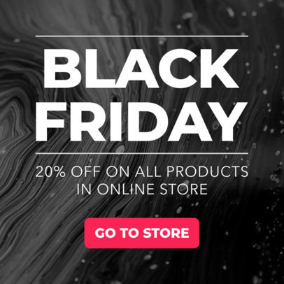 Ad Banner Maker for a Black Friday Sale 751
