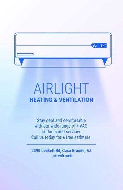 Ventilation Installation Flyer Maker 709c