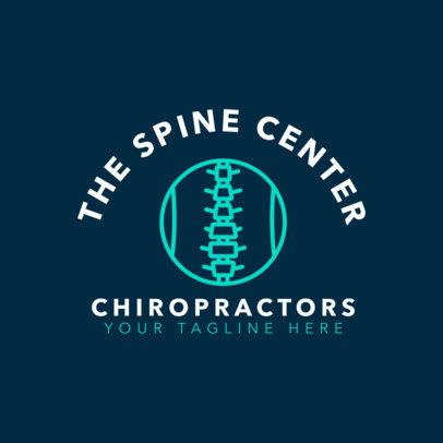 Chiropractor Logo Maker 1491