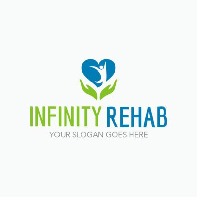 Logo Maker for a Rehab Center 1508