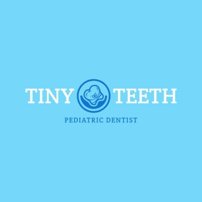 Logo Creator for Pediatric Dentist 1487e